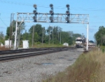 NS 2628 leads 24Z under the signals